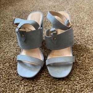Shoes - Never been worn baby blue heels